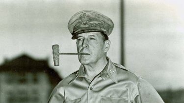 """General Douglas MacArthur reduced Pyongyang to rubble with incendiary bombs. Does Trump know this when he talks of """"fire and fury""""?"""