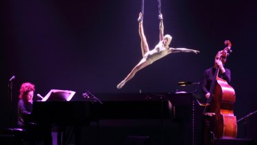 Brisbane songstress Katie Noonan performs in Love-Song-Circus.