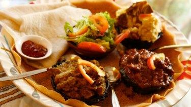 Ras Dashen African restaurant in Footscray.