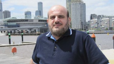 Eyad Abuarga ... the Australian accused of spying has family on his side.