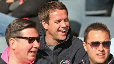 Looking to win: Owner of Brown Panther, Michael Owen.