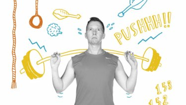 Primitive man... Steve Dow combined CrossFit workouts with the Paleo diet.