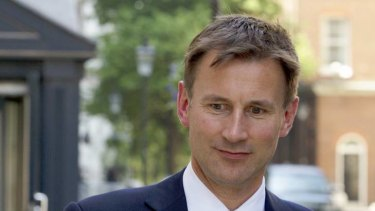 Jeremy Hunt ... warned the British PM about blocking the Murdoch bid for BSkyB.