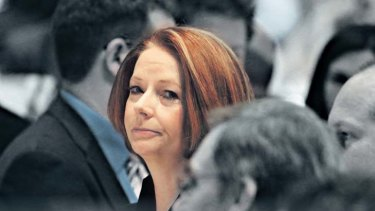 Prime Minister Julia Gillard ... is far more unpopular than Rudd was at the time he rolled.