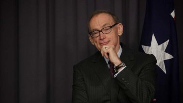 Waiting in the wings ... Bob Carr.