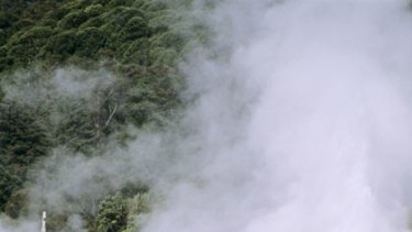 Rotorua's boiling thermal springs are a world-renowned tourist attraction.