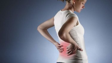 Back pain: sometimes simple treatments are the most effective.