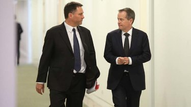 Labor leader Bill Shorten and immigration spokesman Richard Marles support offshore processing.