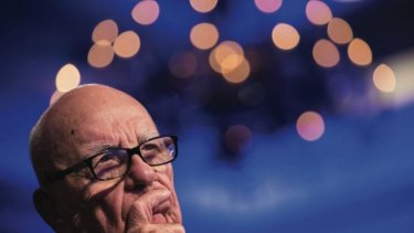 Changed tune: Rupert Murdoch.