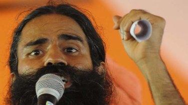 Baba Ramdev ... into his sixth day of fasting.