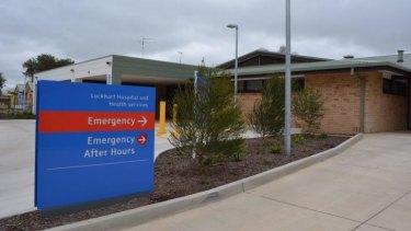 Lockhart Hospital where Kim Hunt worked.