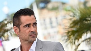 Irish actor Colin Farrell poses during a photocall for <i>The Lobster</i> at the 68th Cannes Film Festival in Cannes, May 2015.