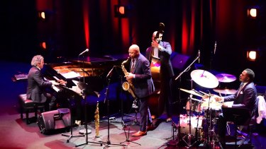 The Branford Marsalis Quartet's cohesion and sense of connection were palpable at Melbourne Recital Centre on Friday.