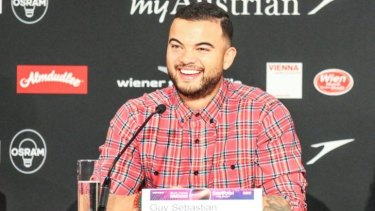 'Come Saturday I should be fine' ... Australia's Eurovision Song Contest entrant Guy Sebastian says he's ready for this weekend's final despite fighting a cold.