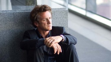 A chilly Manhattan forms a backdrop to Sean Penn's narrative journey.