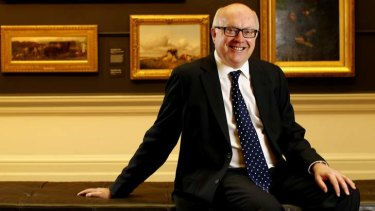 """""""Brazen lie"""": Senator George Brandis rejected Arts Minister Tony Burke's implication that he didn't approve of two appointments to the Australia Council due to their multicultural backgrounds."""