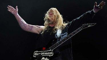 Dead: guitarist Jeff Hanneman.