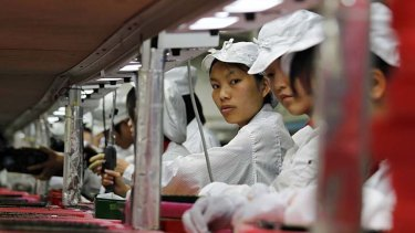 China's factories aren't growing as fast as before.