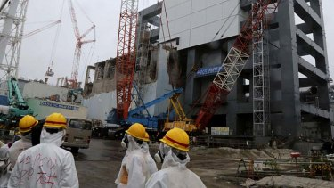 Still a threat: Bone cancer causing substance detected at Japan's Fukushima Dai-ichi nuclear plant.
