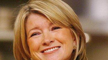 Turkey tipple ... Martha Stewart.
