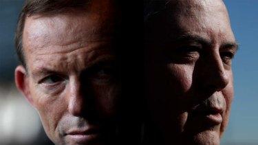 Clive Palmer and Tony Abbott