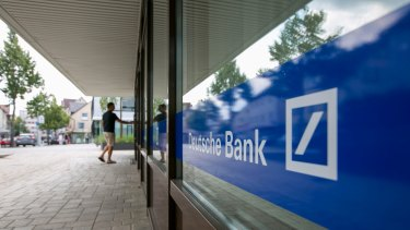 'One day, Deutsche Bank shares will go up 40 per cent. And it will be the day the government bails them out.'