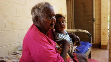 'I'm too old to look after kids now' … Bunny Nabarula.