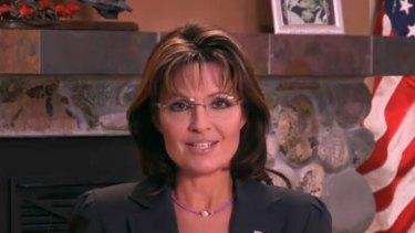 """Sarah Palin ... """"blood libel""""."""