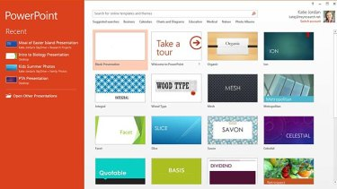 A screenshot of Microsoft Office 365.