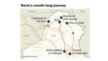 During her captivity Narin  was pressured to convert is Islam and become a concubine of a Islamic State commander.