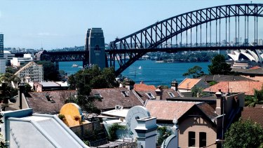 On the slide: Sydney is leading the country's property downturn, with prices falling 0.9 per cent in December 2017.