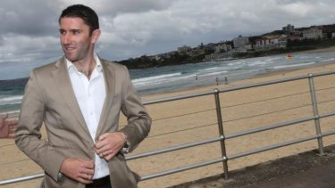 True Sky Blue: Former Sydney FC captain Terry McFlynn.