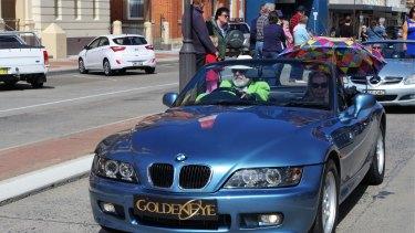 Goulburn's second Spyfest street parade.