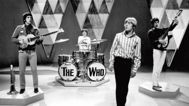 "The kids are all right … the Who perform on the BBC's ""A Whole Scene Going"" in London, 1966."
