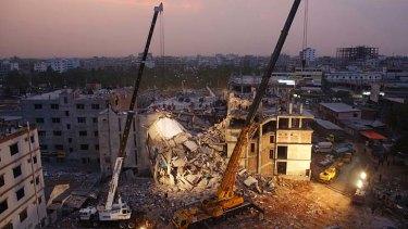 Collapsed: Rana Plaza.
