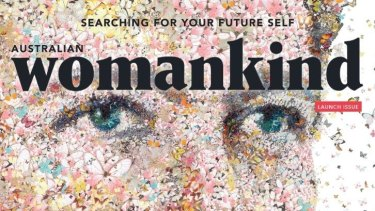 Looking good: Cover of Womankind.