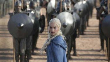 Emilia Clarke in <i>Game of Thrones</i>.