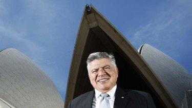 John Symond: new chairman of the Sydney Opera House Trust.