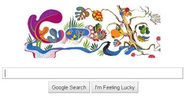 Josef Frank's Google 'doodle'.