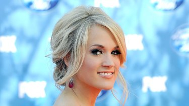 Heartfelt lyrics ... Carrie Underwood no stranger to heartbreak.