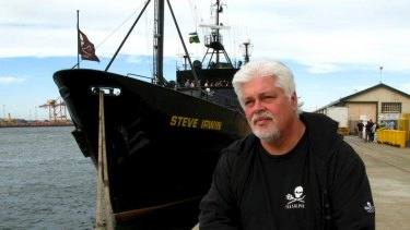 Paul Watson faces deportation to Costa Rica after being arrested.