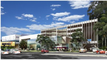 The Macquarie Park centre was a beneficiary of the Epping-Chatswood rail link.