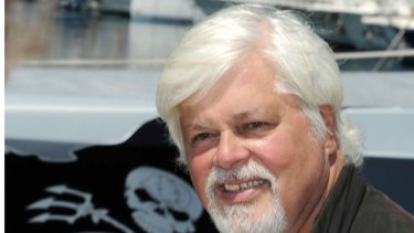 Paul Watson, Canadian founder and president of the Sea Shepherd Conservation Society, in a file photo.