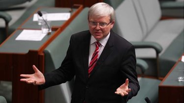 Time is running out for Kevin Rudd to reclaim the prime ministership.