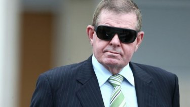 Winery jaunts: Peter Slipper is due to be sentenced on September 22.