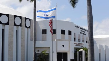 A Jewish Centre in Miami that was threatened in 2016.