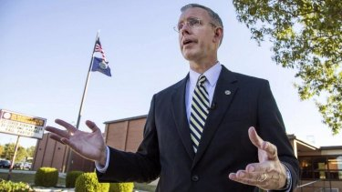 Supported by Republicans: Democrat Paul Davis is running for governor in Kansas.