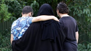 The mother and her two sons are filing a lawsuit.
