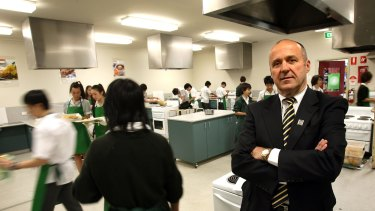 """President of the Victorian Association of State Secondary Principals Frank Sal says experience running a """"McDonald's or a hardware store"""" does not equip people to run schools."""