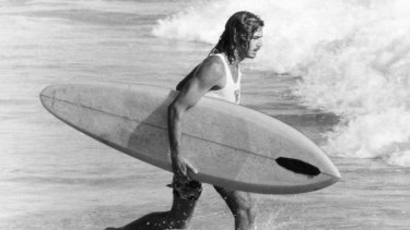 Michael Peterson ... surfing legend.